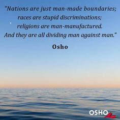 We are one  ~ Osho
