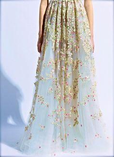 Valentino Haute Couture, spring florals