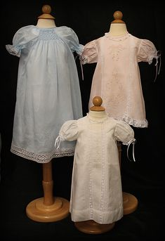 Ms. Dot's Circle of Baby Gowns!