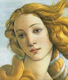 Sandro Botticelli -Nascita di Venere -1485Così bella da essere scelta come volto dei dieci centesimi italiani, la Venere di Botticelli rappresenta per forme e colori il trionfo della perfezione classica. La modella, musa di Botticelli (appare anche ne La primavera) e di altri artisti umanisti, è Simonetta Vespucci: giovane fiorentina ritenuta dai suoi contemporanei
