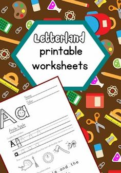 I could not find worksheets anywhere that had the Letterland character letter shapes, especially t, q and y, so I created these.Worksheets include:*Uppercase and lowercase tracing.*Circle the picture that starts with the letter. With some of the more difficult letters I added pictures that start with the letter and the learner just needs fill in the missing letter.*Complete the word or circle the letter in a sentence. #letterland #alphabet #worksheets