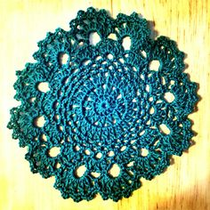 Tea Time Easy Crochet Doily Free Pattern  this doily was a lot of fun to crochet and a pretty easy free pattern
