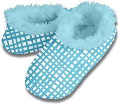 fd3b3a24780 Aqua Grid Lines Snoozies – Adult Sock…