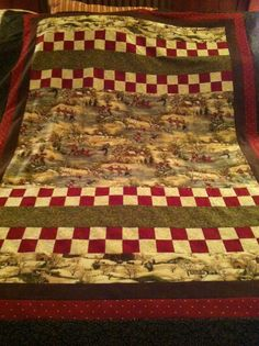 """Quilts Made with Panels 