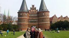 Lübeck ve městě Schleswig-Holstein