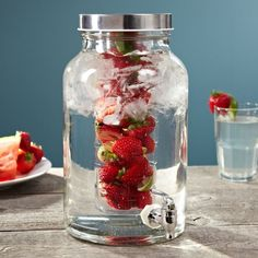Fancy - Fruity to the Core Cold Beverage Dispenser