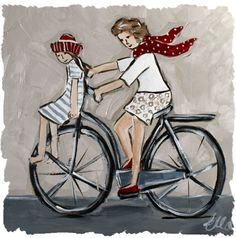 www.ellastudio.co.za Bicycle art