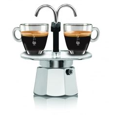 MOKA POT Bialetti 2016 Mini Express cafetera mimibar 2cups 100ml. กาต้ม กาแฟสด espresso pot หม้อต้ม - คลิกที่นี่เพื่อดูรูปภาพใหญ่
