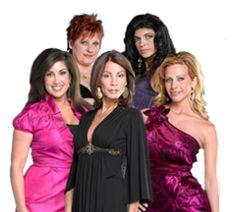 NJ Housewives.  Jacqueline, Caroline, Teresa, Dina and Danielle