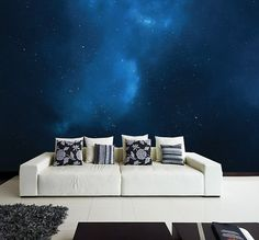 Beautiful wall mural - Stars!    Our products combine the high-quality and photo quality print for breathtakingly realistic 3D-perspective.