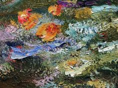 Monet brush strokes close up - Google Search
