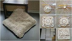 Hanımlar bu yazımda sizler ile oldukça güzel bir modele sahip örgü yastık kılıfı yapımı detaylarını paylaşacağım. Dekoratif yastık yapımı.