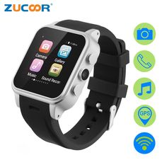 62.74$  Watch now - http://aliufq.shopchina.info/go.php?t=32809703751 - Smart Watch Phone Men's Reloj Inteligente Android Touch Phones Waterproof Relogio Watches Clock ZW37 With 3G SIM SD Card Camera  #buyonline