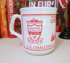 Liverpool FC FA Cup Final 1992 Mug by LFCcollectables on Etsy