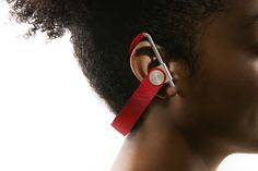 Leather and Metal Wireless Headphones - Design Milk