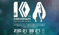 Cuenta atrás para el décimo aniversario de Hatsune Miku