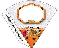 Cone Guloseimas Os Flintstones: