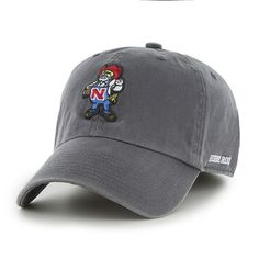 Nebraska Cornhuskers 47 Brand Franchise Charcoal Fitted Hat
