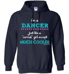 Golly Girls  I m a Dancer... Much Cooler Gildan Heavy Blend 86ee6f1ce5f