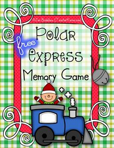 FREE:  Use this Polar Express Memory Game to practice determining importance, recalling facts, and making connections with text.  Find out how with this FREE download.  TeacherKarma.com #Polar #Express