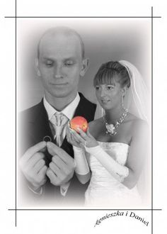 PERFECT way to incorporate fruit into the wedding.     What the hell? Haha