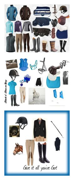 """""""Real Equestrian Clothes"""" by equestriangirl22 ❤ liked on Polyvore featuring art"""