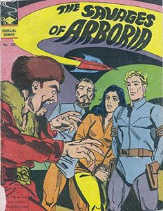 Indrajal Comics-282: Flash Gordon:The Savages Of Arboria (1977)