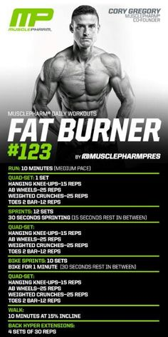 Fat burner without the so called magic pill. Just do the work
