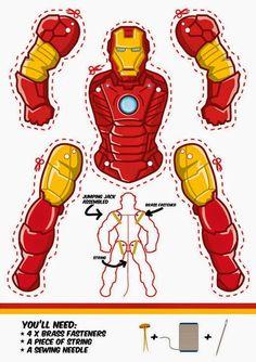 Resultado de imagen para superheroes para imprimir y recortar