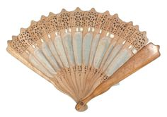 1870 Fan Medium: wood
