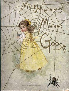 Grays•Yellow• Vintage Book Cover Maud Humphrey [Bogart]