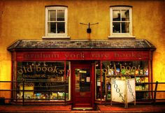 Bookshop in Honiton, England