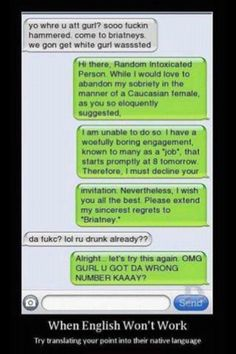 wrong number! LOL
