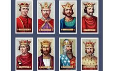 The quarrelsome line of Plantagenet kings, whose history is recounted in Dan Jones's 'The Plantagenets' Photo: Alamy