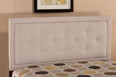 Hillsdale Furniture 1299HQRB Becker Headboard - Queen - w/Rails