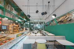 Karavaevi Brothers café by V12, Moscow – Russia » Retail Design Blog