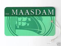 Here's an @HALcruises #Maasdam luggage tag!