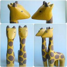 b for Bjørn: Giraffes