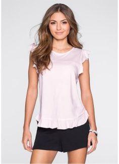 T-shirt manches papillon, BODYFLIRT, rose clair