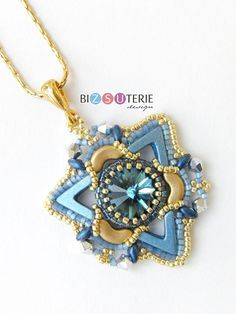 Tristan pendant instant download beading pattern with AVA