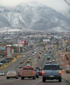 El Paso, Tx. Spent my teen years here. I loved my mountains.