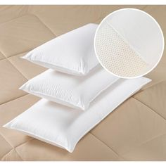 Cannon 300 Thread Count Latex Foam Pillow