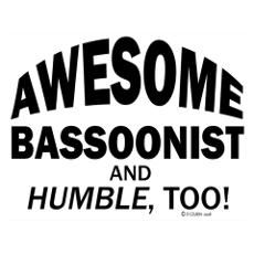 Awesome Bassoonist Poster