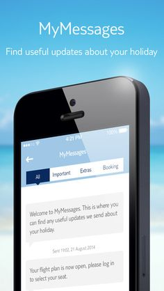 MyThomson If you've booked a Thomson holiday directly with Thomson or First Choice in store, online or over the phone, you can use the MyThomson app. Just make sure you have your booking details at hand to log in, and then you're ready to manage your booking, plan excursions and add handy extras, all from the app. http://www.thomson.co.uk/myapp/mythomson.html #titanium