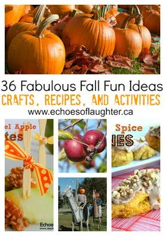 DIY::#36 Fabulous Fall Fun Ideas- crafts, recipes & fun things to do! These are amazing !