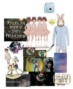 """freak show"" by bohemianhipster ❤ liked on Polyvore featuring art"
