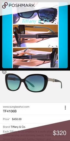 tiffany co sunglasses brand tiffany model 4106b color code 80014u lense - Tiffany And Co Color Code