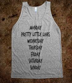 Monday...PLL..