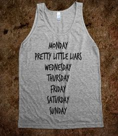 Monday...PLL... YES!!!