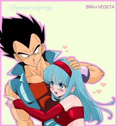 "vegeтa || ベジータ (@vgeta.ig) on Instagram: ""Mi princesa. . . . #vegeta #bra #bura #bulla #princess #dragonball #dbz #dragonballz #dbs…"""